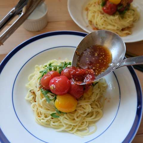 トマト冷やし中華