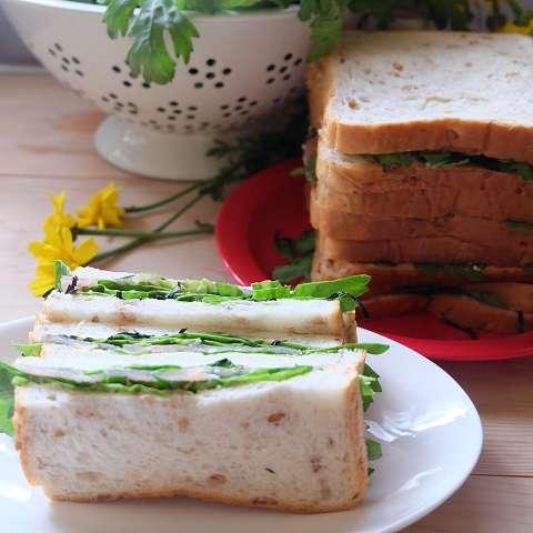 春菊のサンドイッチ