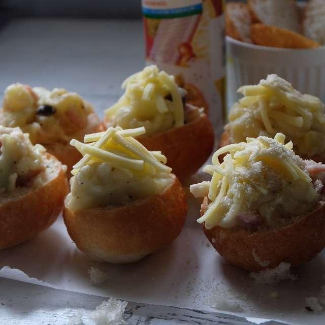 残りのチーズとパルメザンチーズをふってオーブンで焼く