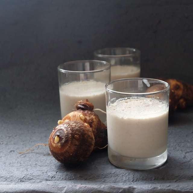 里芋のココナッツプリン