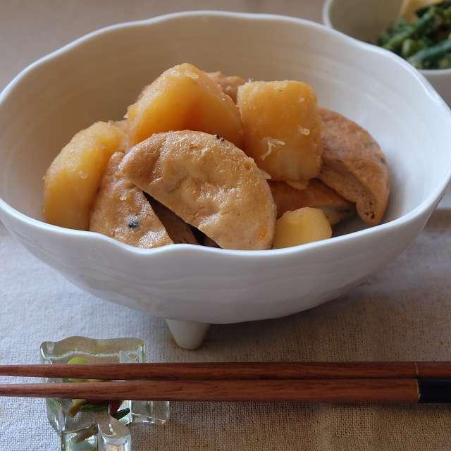 ジャガイモとがんもどきの煮物