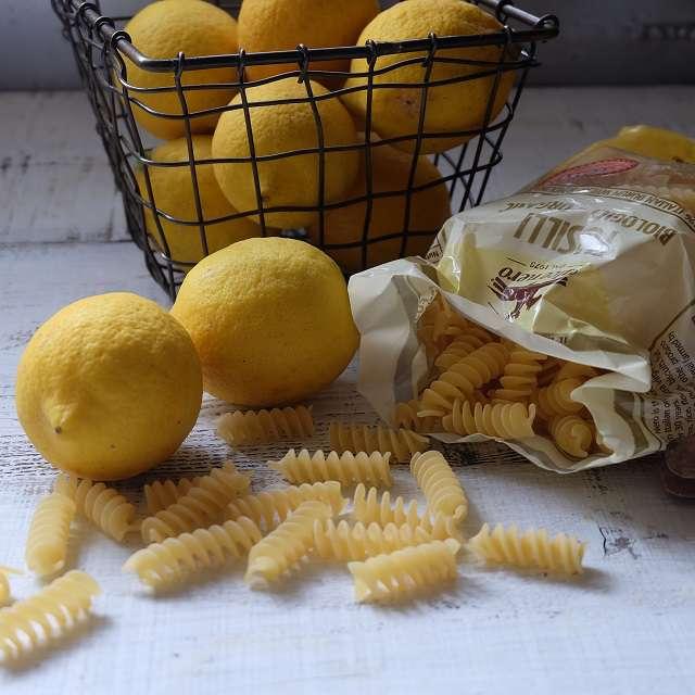 レモンパスタの材料