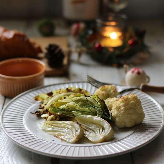 冬野菜のオイル焼き