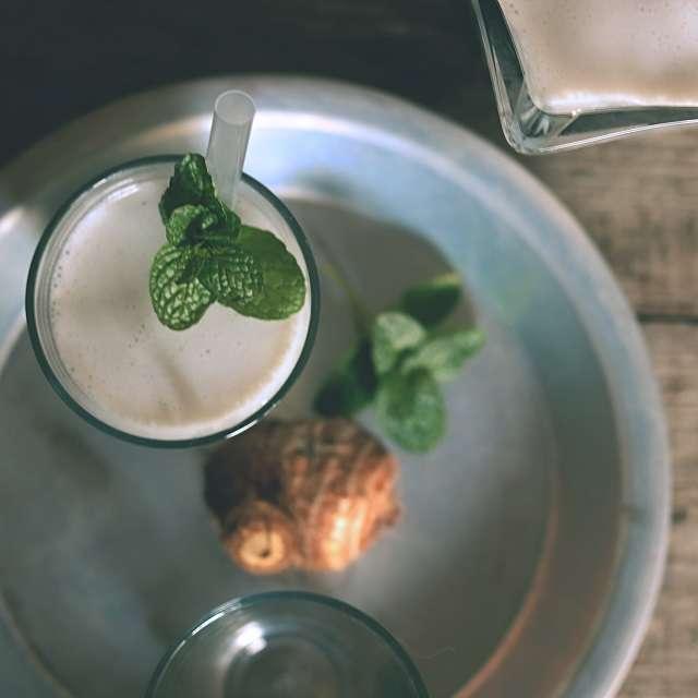 タロ芋ココナッツミルク