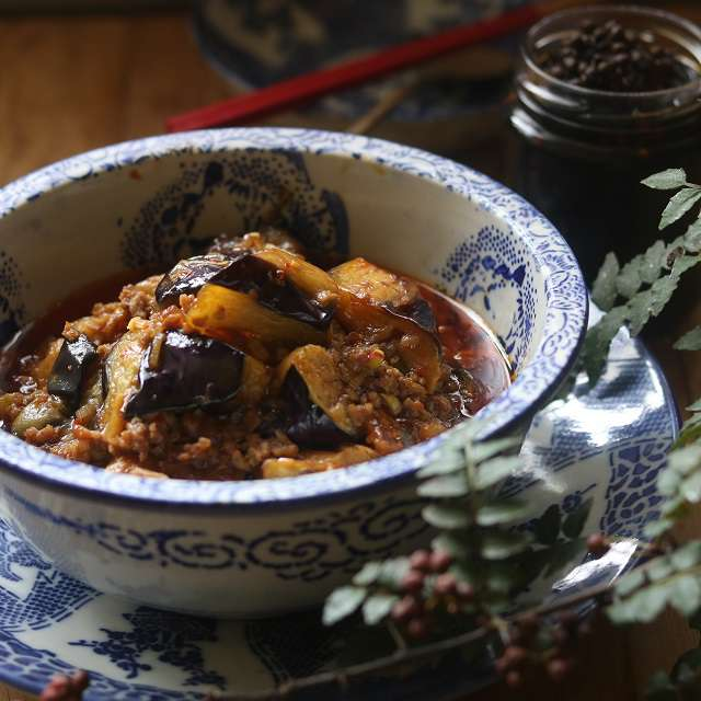 山椒醤油を加え、一混ぜして器に盛る
