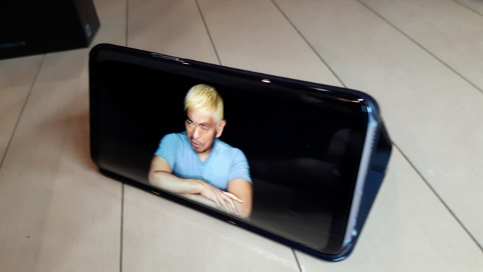Galaxy S8で動画を見る