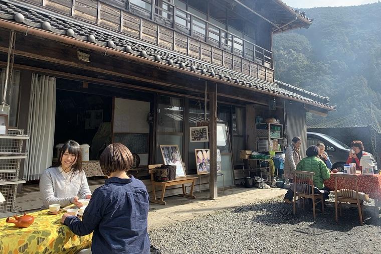 奥静岡の縁側カフェ