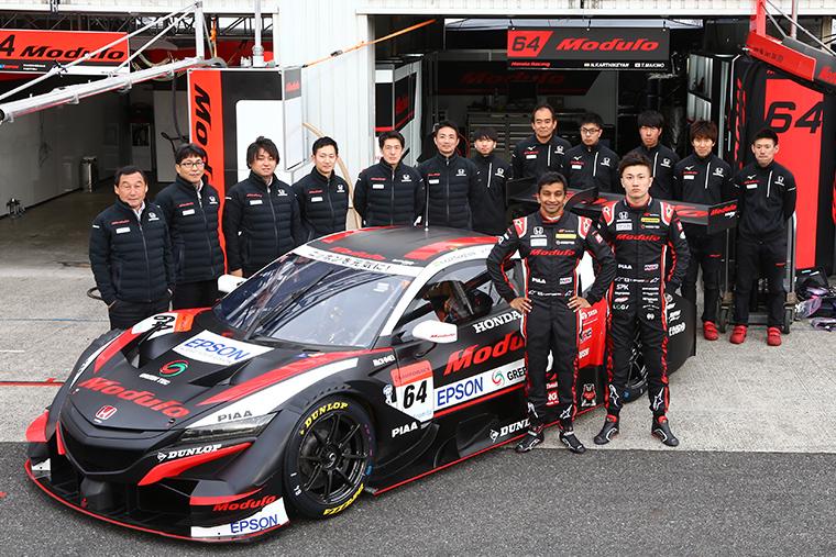 Modulo Nakajima Racing(64号車)