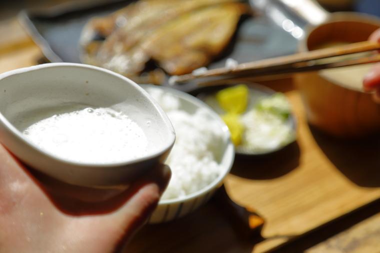 鎌倉「ヨリドコロ」の卵かけご飯