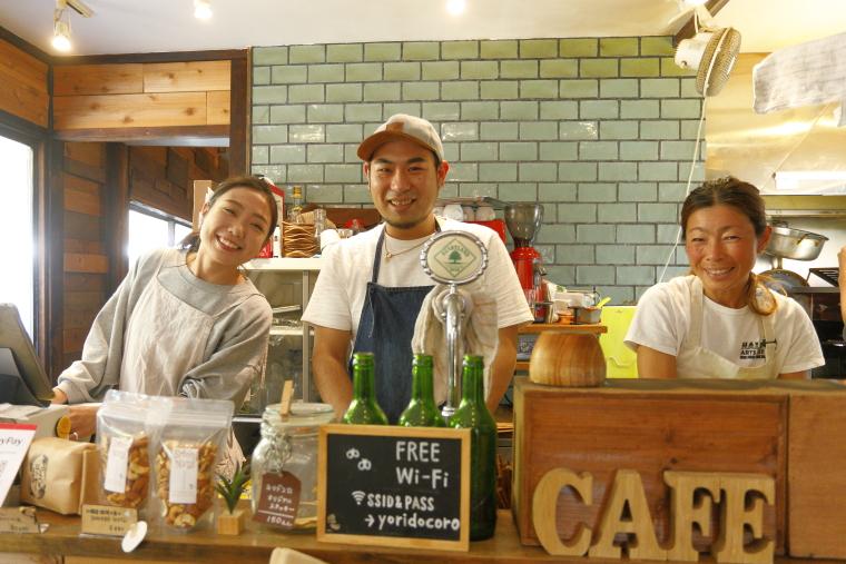 鎌倉「ヨリドコロ」のオーナーの写真