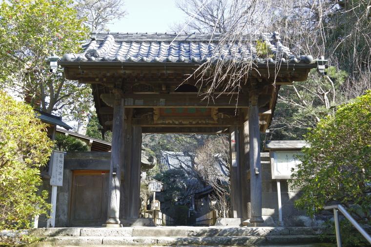 鎌倉・安国論寺