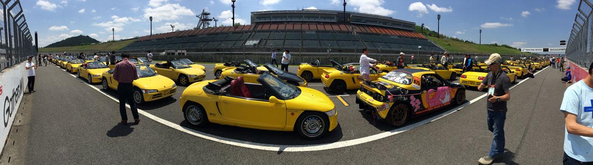 澤田さんが参加した「ミート・ザ・ビート」というビートのオーナーが集まるオフ会写真