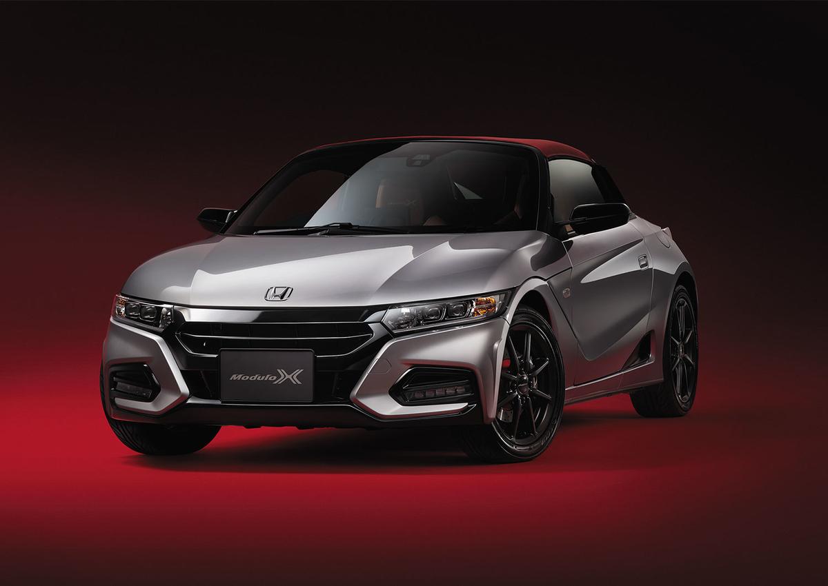Hondaの軽スポーツオープンカー「S660 Modulo X」