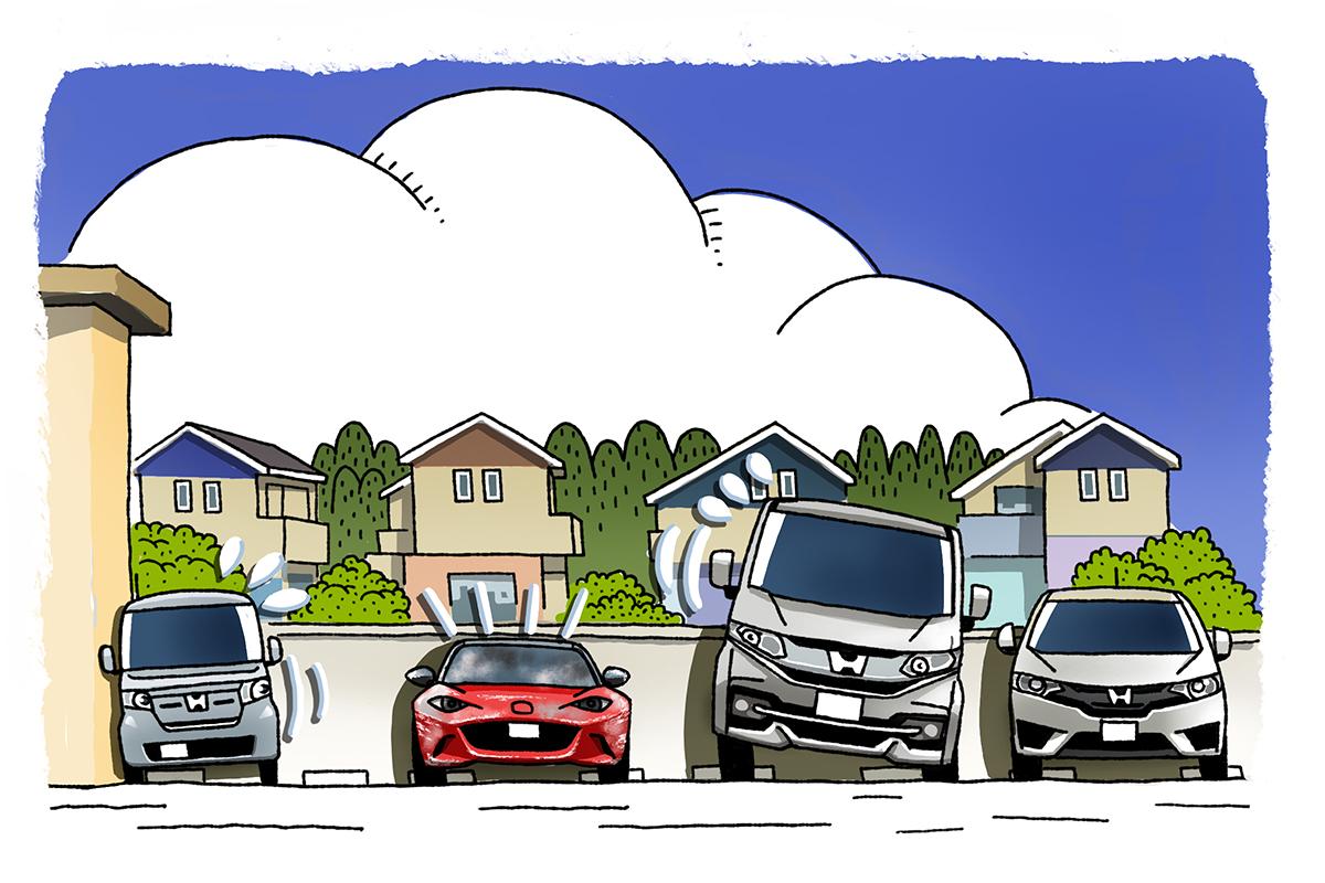 駐車時のイメージ