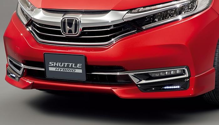 Honda「シャトル」のロアスカート(フロント用)の写真