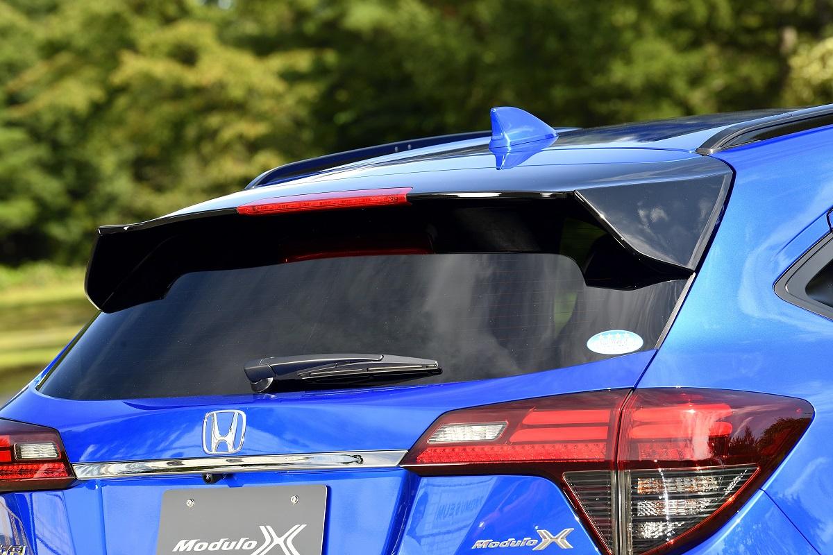 Honda「VEZEL Modulo X」のテールゲートスポイラー