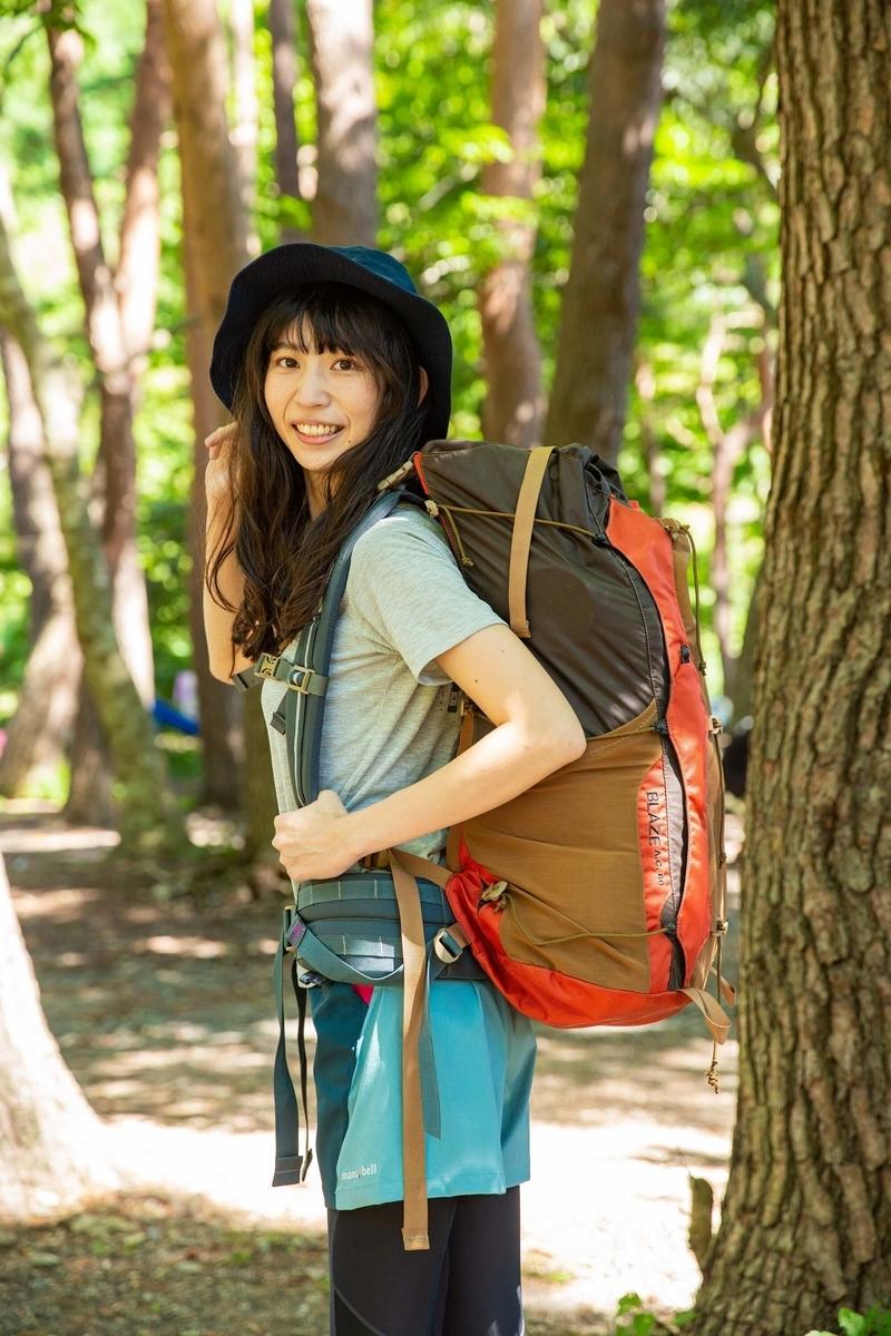 キャンプ女子の森 風美さん