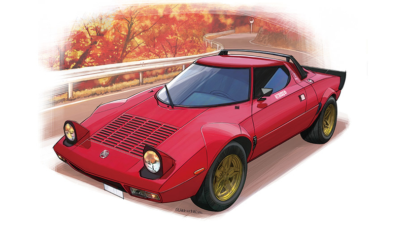 下野康史の旧車エッセイ:ランチア・ストラトス