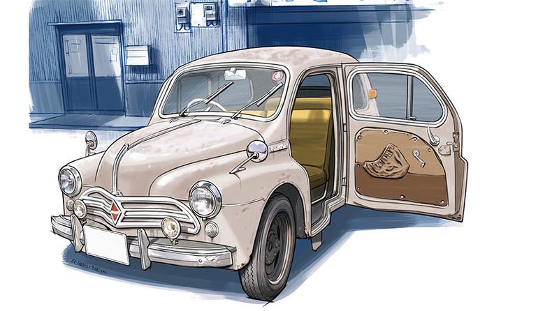 下野康史の旧車エッセイ:日野・ルノー