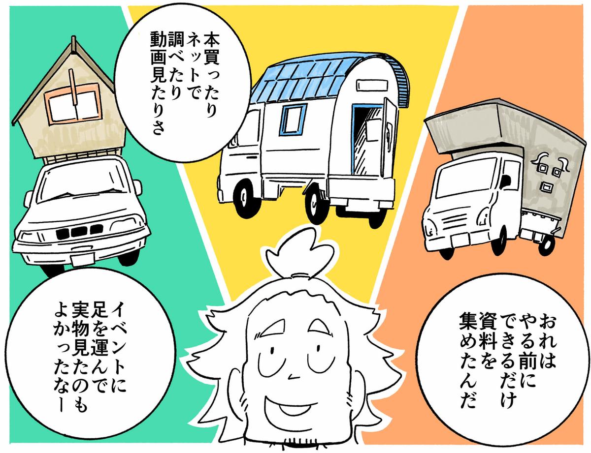 旅する漫画家シミによる連載「Wheeeels!」第4話の12コマ目