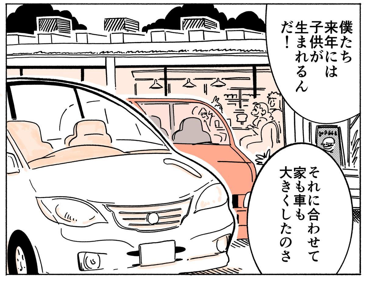 旅する漫画家シミによる連載「Wheeeels!」第4話の19コマ目