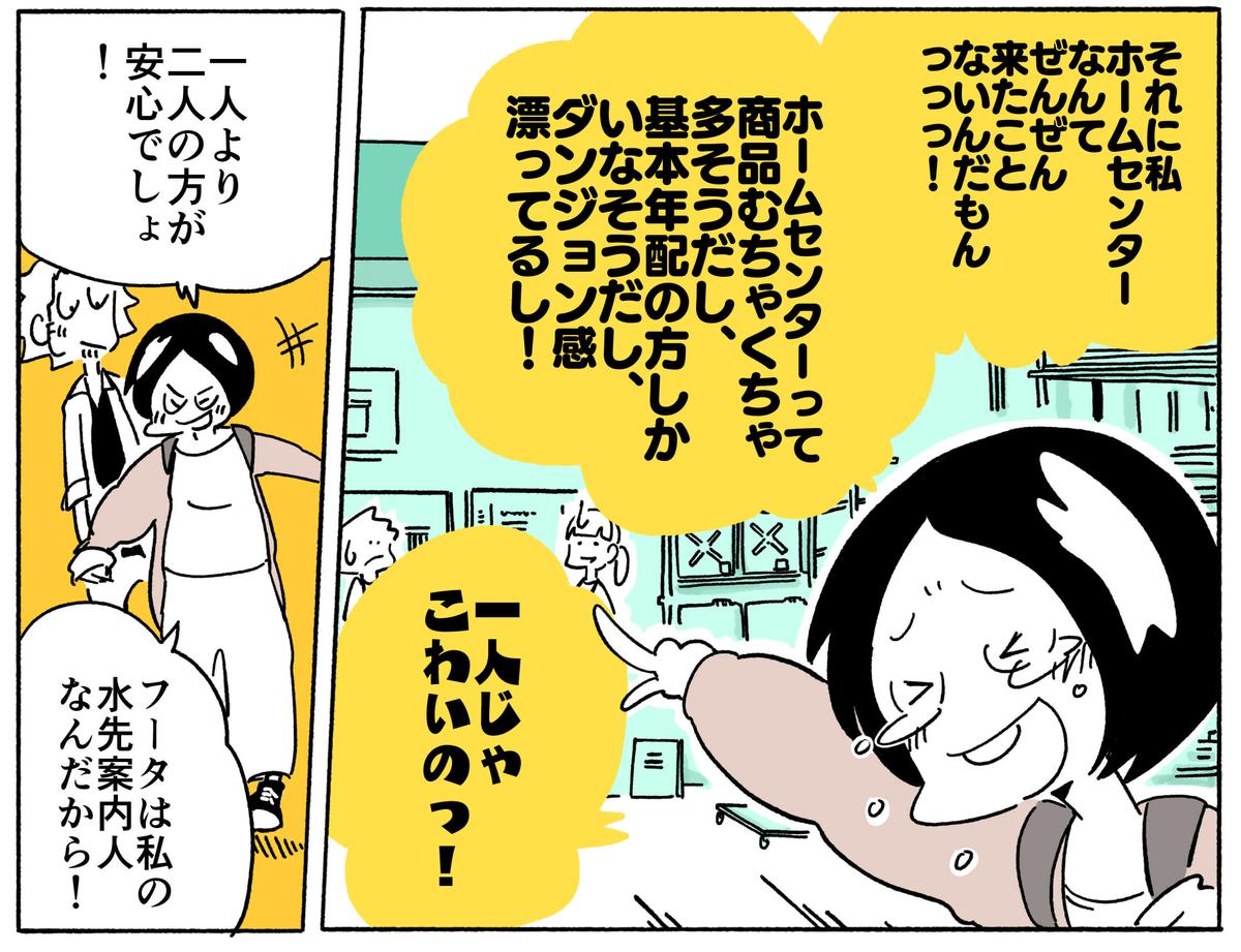 旅する漫画家シミによる連載「Wheeeels!」第4話の6コマ目