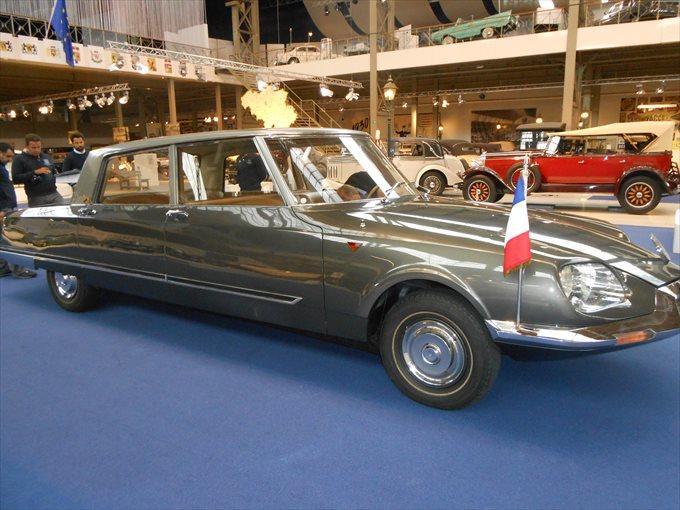 大統領専用車としてのシトロエン「DS21 プレジダンジェル」