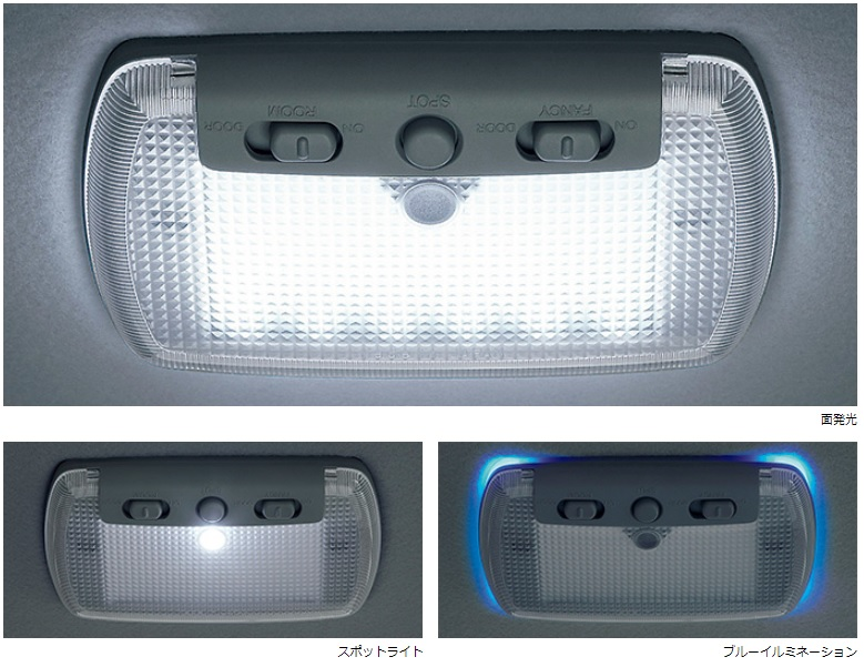 Honda「N-BOX」N-BOXのLEDルーフ照明