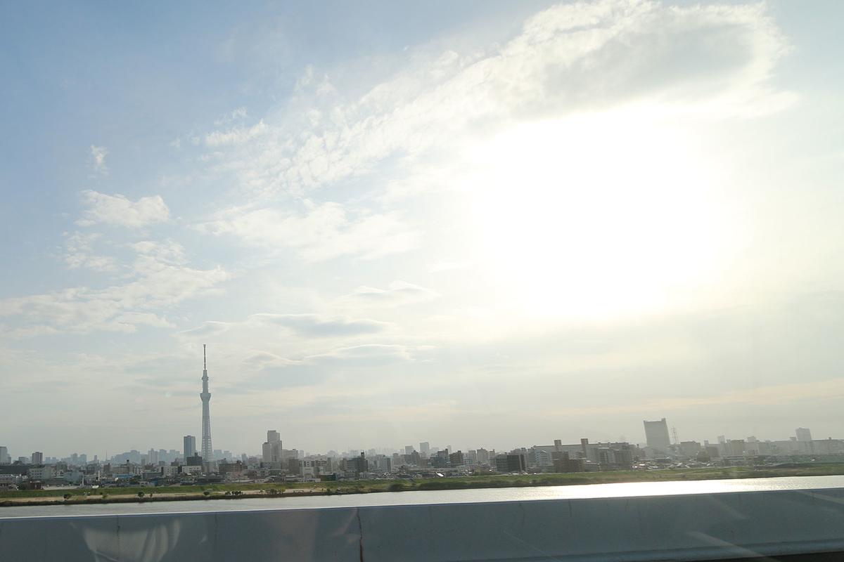 首都高中央環状線(C2)からスカイツリーを映した写真