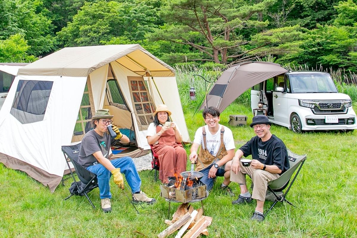 Honda STEPWGN、N-BOX×ogawaのグループキャンプ_アイキャッチ