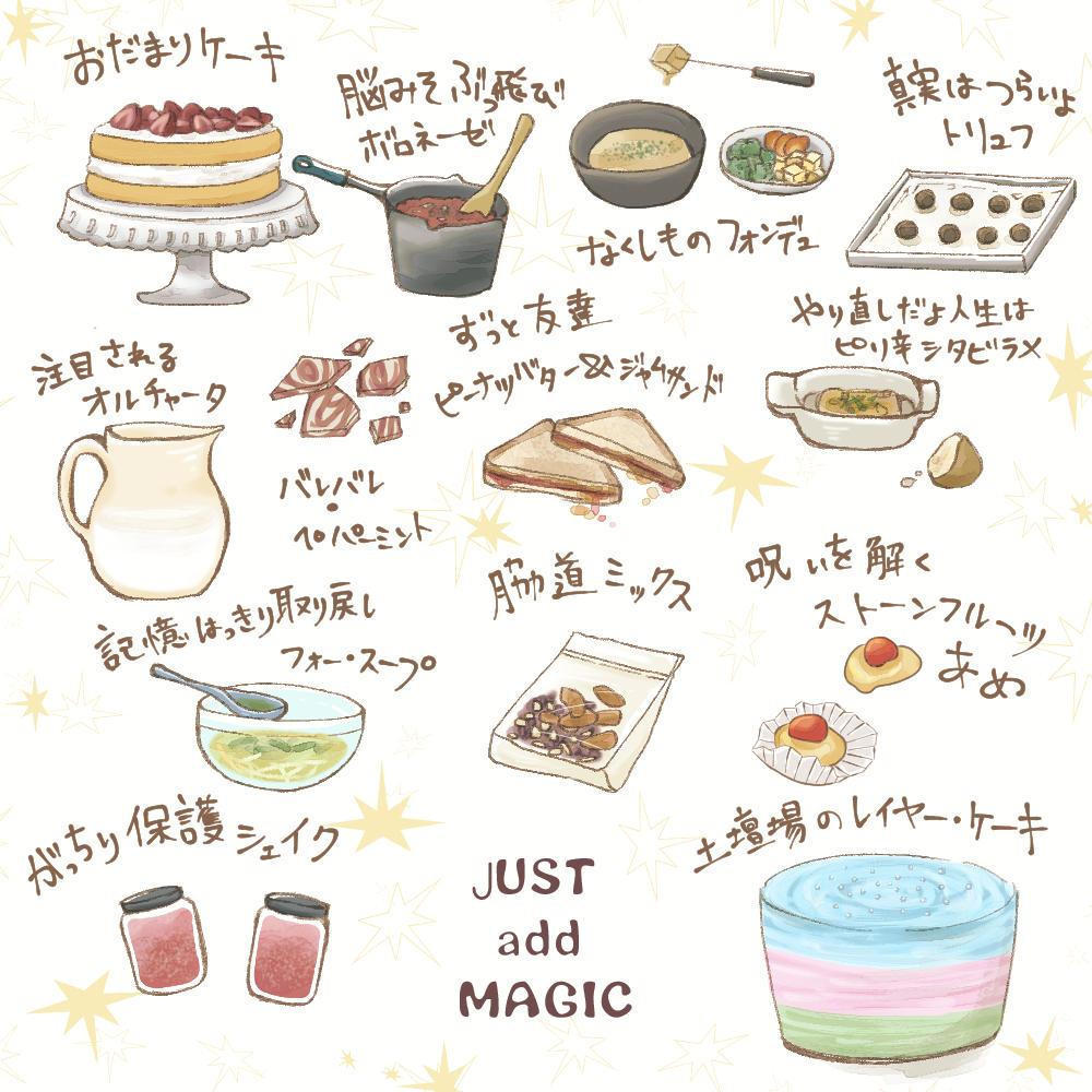 魔法のレシピ
