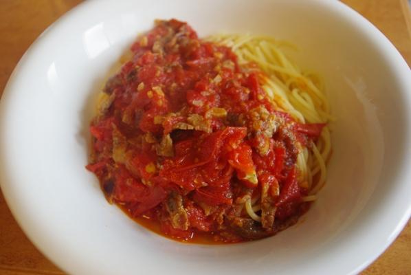 2008年7月1日のトマトスパゲッティ、リベンジ