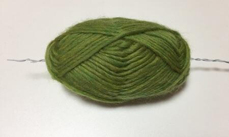 毛糸とワイヤー