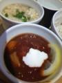 帆立とおこげの中華風スープ、東京ボルシチ@スープストック