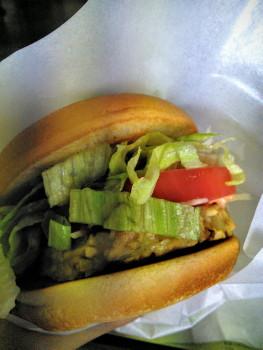 モス野菜バーガー ソイパティ