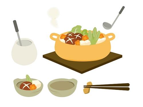 美味しそうな鍋料理