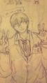 和久先生の貴重な笑顔