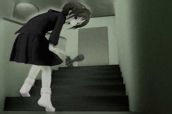 昭和京都の怪談綴りによる店舗住宅の2階に潜む死神と階段を上る伏見七狐