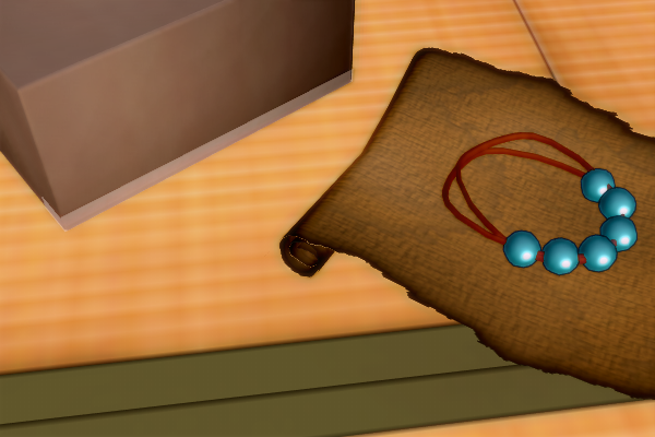 昭和京都の怪談綴りによる魔除けや厄除けに使われる数珠の類