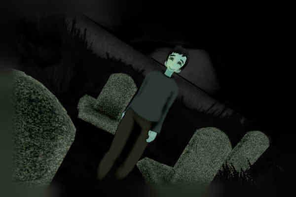 昭和京都の怪談綴りによる墓場のニヤけた男