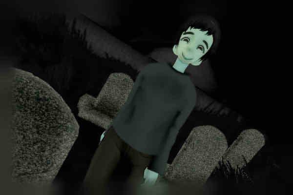昭和京都の怪談綴りによる墓場で迫り来るニヤけた男