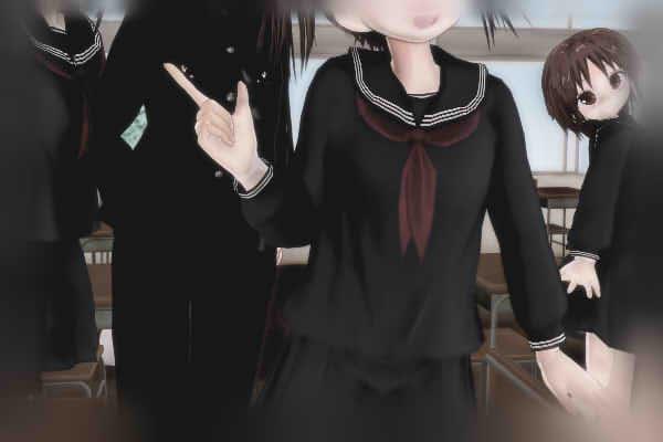 昭和京都の怪談綴りによる向日市のある中学校でどさくさに背景に紛れる伏見七狐