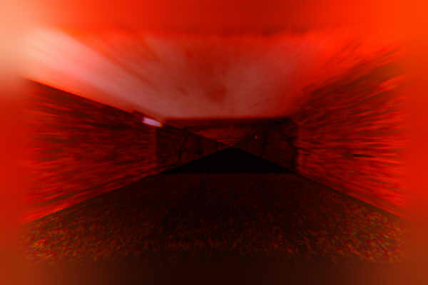 昭和京都の怪談綴りによる真っ赤な清滝トンネルの中