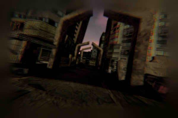 昭和京都の怪談綴りによる異世界の廃墟