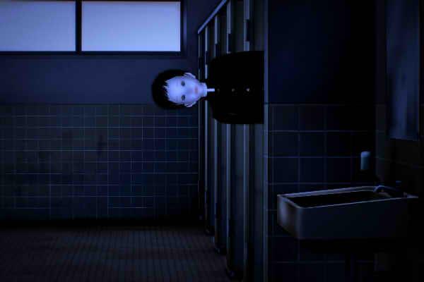 八幡市の古いトイレに出る学生の怖い話