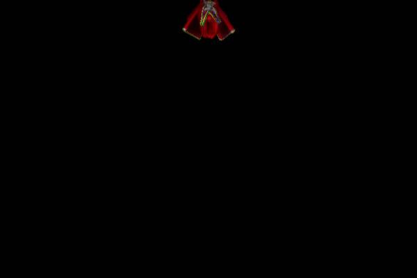 闇の中で飛んでくる雛人形