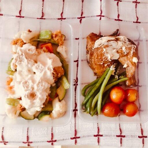 ダイエットボックスの野菜