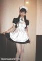 ミニスカートのメイド服の似合う超可愛い女の子
