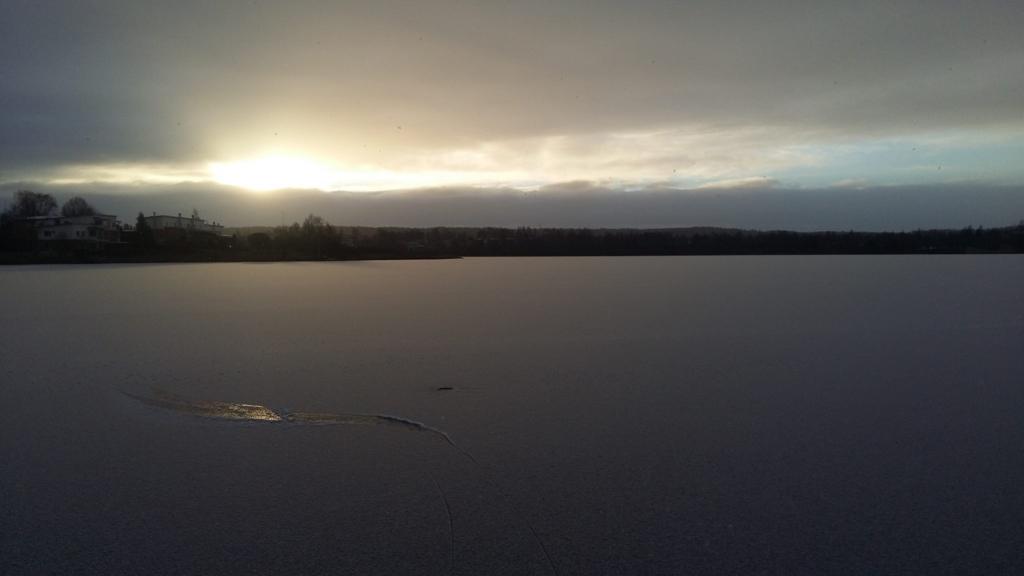 初日の出2017 over Iidesjärvi