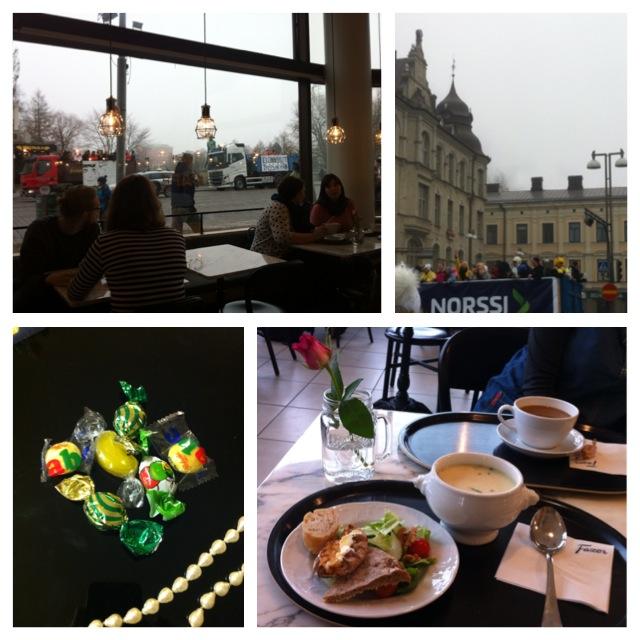 Penkkariajelu 2017, Tampere, Fazer Café